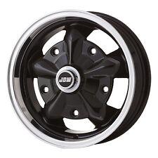 "5.0""x15"" JBW TORQUE VW BEETLE / BUS 5x205 BLACK WHEELS SET 4 TO CLEAR"
