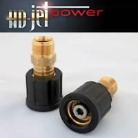 Raccord pivotant M22 F x M22 M  Karcher Kranzle Alto Adaptateur pour tuyaux HP