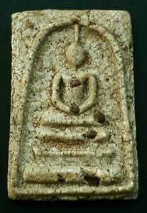 Very Rare Lp Toh wat rakang Phra Somdej Thai magic amulet buddha lucky pendant