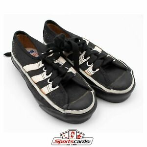 RARE 1960s Keds Allsport Shoes With Box Youth Black Size 10.5 M With Box YK 564