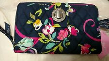 Vera Bradley NWT Ribbons Turn Lock Wallet *Beautiful*