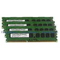 Micron 24GB 6x4GB PC3-10600E DDR3-1333 ECC Unbuffered DIMM F HP Z400 Workstation