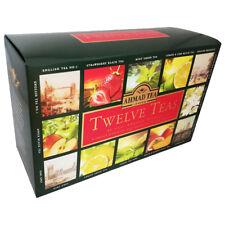 Ahmad Schwarzer Tee Set 12 Teesorten 60 Teebeutel Tea Collection London