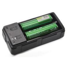 Cargador de batería con indicadores para Recargable Li-Ion baterías AA y AAA