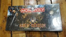 Monopoly Harley-Davidson Authorized Edition (Board Game) collector's special NEW