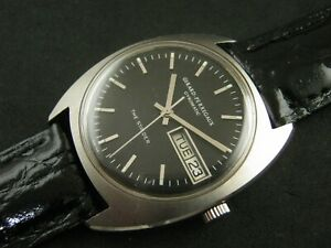 Vintage GIRARD PERREGAUX GYROMATIC STRIDER  Date Nice Collections
