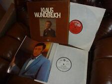 """Klaus Wunderlich, Portrait in Gold, Telefunken BOX 630101 2LP, 1974 12"""" PR CPOY"""
