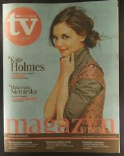 KATIE HOLMES  mag.COVER Poland 2010 RZECZPOSPOLITA TV Malgorzata Niemirska