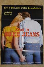 (P155) KINOPLAKAT Zwei in blue Jeans (1975) Paul Le Mat, Dianne Hull