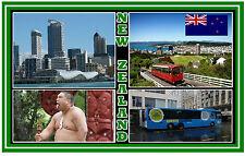 NEW ZEALAND - SOUVENIR FRIDGE MAGNET - BRAND NEW -  NICE LITTLE GIFT