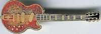 Hard Rock Cafe REYKJAVIK 1996 Wall Guitar PIN - Bob Welch #7718 Memorabilia Memo