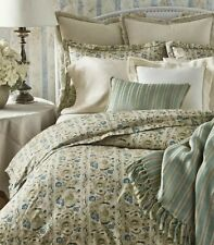 Ralph Lauren Constantina Cassandra King Comforter Floral Cream