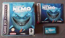 LE MONDE DE NEMO pour Nintendo Gameboy Advance Disney Pixar AGB P AZIX Finding