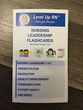 Level Up Rn Leadership Flashcards Cathy Parkes