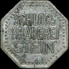 BIERMARKE: Flaschenpfand, ⌀ 20,5 mm. SCHLOSS BRAUEREI STEIN / BAYERN.