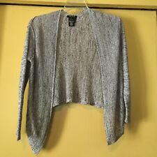 NEW Nic+Zoe Black & White Marled Cardigan, Size PP, Linen Blend NWOT $124