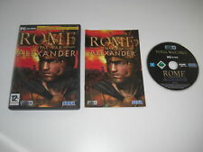Rome Total War ALEXANDER Add-On Expansion Pack Pc DVD Rom Original FAST POST