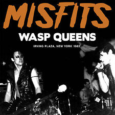 THE MISFITS New Sealed 2019 UNRELEASED NEW YORK CITY 1982 LIVE CONCERT CD