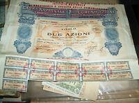 ISTITUTO NAZIONALE PREVIDENZA CREDITO COMUNICAZIONI titolo 2 AZIONI 1928