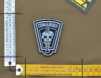 "Ricamata / Embroidered Patch ""Bope Comandos"" with VELCRO® brand hook"