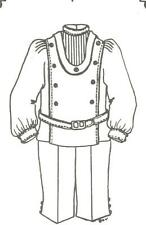 """Boy pant shirt doll clothes sewing pattern size 27-28"""" # 31"""