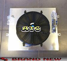 For Toyota Land Cruiser 75 Series HZJ75 1HZ aluminum radiator shroud + fan
