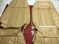 Ford Xb Gt Sedan/coupe Fronts Only Seat Trim Covers In Chamois aussie Made