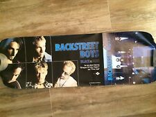 Backstreet Boys Promo Poster 2 Sided Partial Poster On One Side 12 X 36