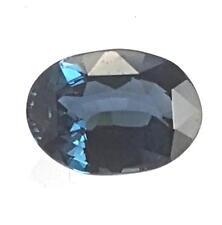 Echter blauer ovaler Spinell  ( 3,37 Carat ) ca. 11 x 8 mm // mit Spezifikation