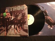 THOR - Keep The Dogs Away - 1978 Vinyl 12'' Lp./ VG+/ Hard Rock Metal