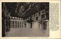 Augsburg Bayern Schwaben AK ~1910 Rathaus Goldener Saal Kassettendecke Ölgemälde