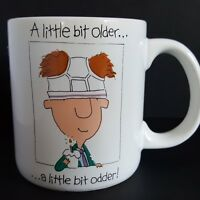 Birthday Mug Funny Little Bit Older Little Bit Odder Underwear on Head Gag Gift