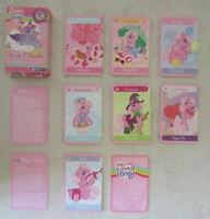 Jeu de 7 familles et 3 autres jeux Mon Petit Poney / 42 cartes + 2 règles de jeu