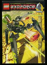 LEGO -- 8104 -  Nur Bauanleitung -- EXOFORCE --