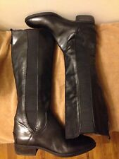 R Fall Leather Knee Boots Size 9.5 by SAM EDELMAN Black Leather