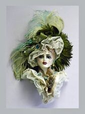 Unique Creations Limited Edition Lady Face Mask Wall Hanging Decor