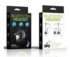 Bluetooth HEADSET auricolare per casco comandi vocali, musica, gps, cellulare.