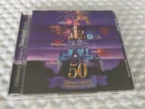 WALT DISNEY HAPPIEST CELEBRATION ON EARTH 50th Anniversary CD 2005 Disneyland