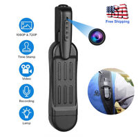 1080P HD Pocket Pen Camera Hidden Spy Mini Body Wireless Video Recorder DVR US