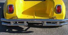Club Car DS Black Mega Double Rear Bumper for '84-present Golf Carts (A)