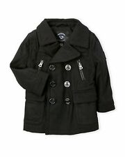 Urban Republic Navy Classic Double Breasted Boys Peacoat  Jacket  4 MSRP $85