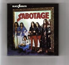 BLACK SABBATH empty  DU Sabotage PROMO box for JAPAN mini lp cd ozzy  like new