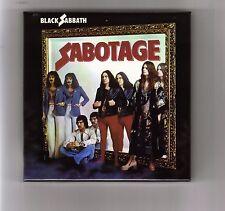 BLACK SABBATH empty  DU Sabotage PROMO box for JAPAN mini lp cd ozzy  like new
