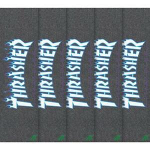 "Mob Graphic 9"" Skateboard Griptape, Thrasher Japan Flame"