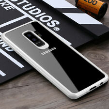 For Samsung Galaxy S9/S9 Plus Hybrid Rubber Armor Case Slim Clear Bumper Cover