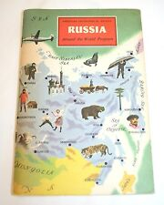 1963 Russia-American Geographical Society--Around the World Program Book