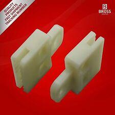 2X sujetadores del conector del elevalunas para Toyota Corolla 1999-2012
