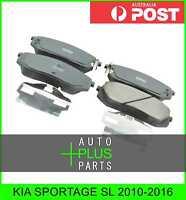 Fits KIA SPORTAGE SL Brake Pads Disc Brake (Front)