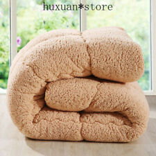 Super Warm Winter Wool Quilt Comforter/duvet/blanket Lamb Down Fabric Filling