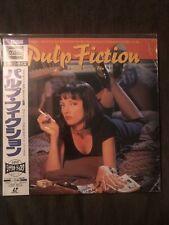 PULP FICTION' Japan Import WS LaserDisc with OBI Mint
